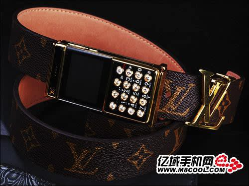 This Louis Vuitton cellphone belt buckle comes to us by way of China and  brings together two things that should never be combined  fake designer  belts and ... 1f1041f53e9