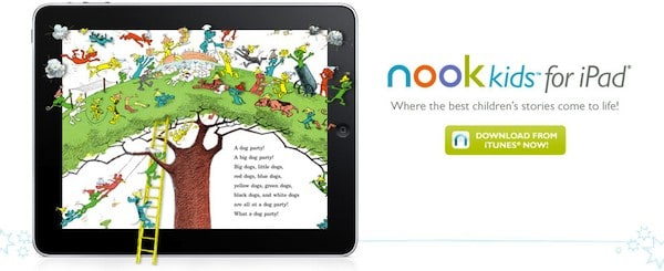 The Best Ipad Apps For Toddlers New Atlas >> Barnes And Noble Launches Nook Kids Ipad App