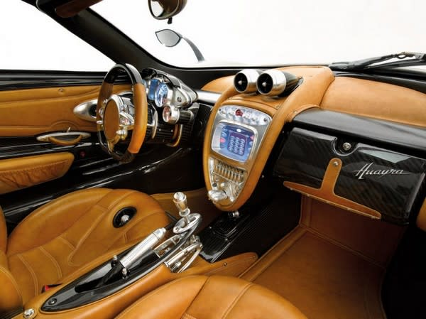 Pagani Huayra Supercar Has A Steampunk Interior That Would Impress