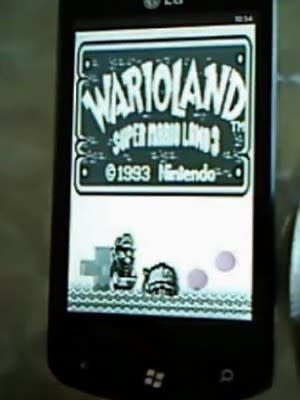 WP7 Game Boy emulator demoed, soon you can show your