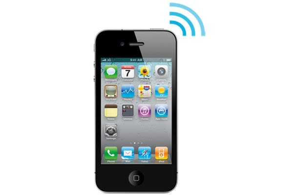 iPhone 4 to get AT&T mobile hotspot capabilities on February