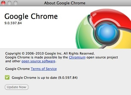 Google Chrome 9 update brings speed, WebGL, and apps