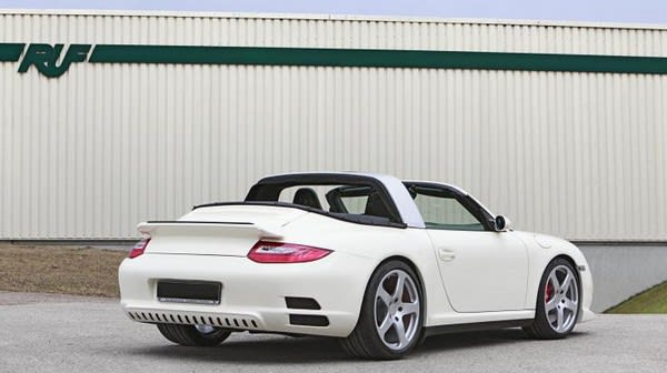 If You Want A Porsche With Little Bit More Handling Brakes Outrageous Styling Ruf