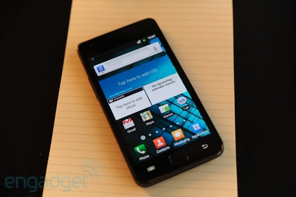 Samsung working with Sybase and Cisco to make Galaxy S II