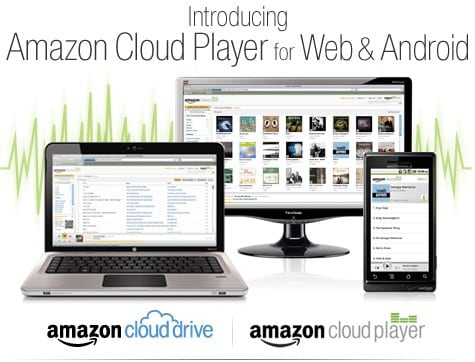 Amazon Cloud Player goes live, streams music on your