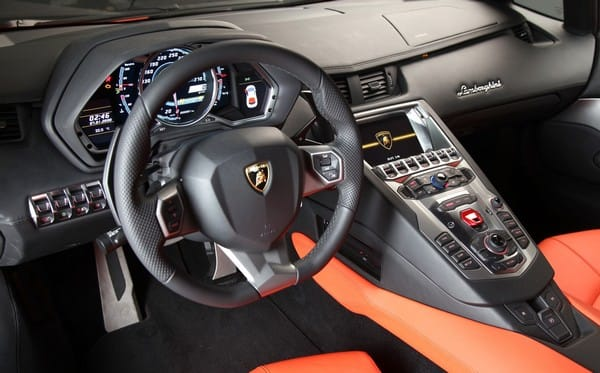2012 Lamborghini Aventador Lp700 4 Gets Tegra Powered Multi Function
