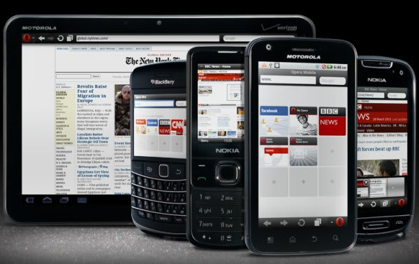 Opera delivers new Mini, Mobile browsers with pinch-to-zoom and
