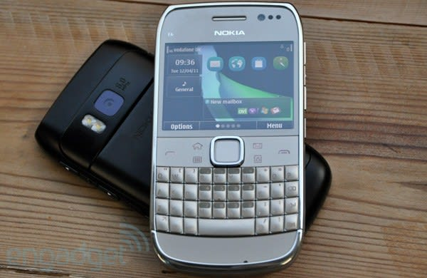 best service 3450f 58f67 Nokia E6 first hands-on! (updated with video)
