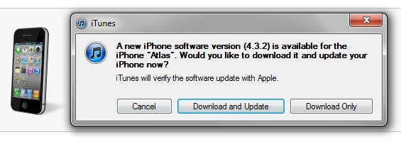 iOS 4 3 2 / 4 2 7 now available to download, fixes iPad 3G and