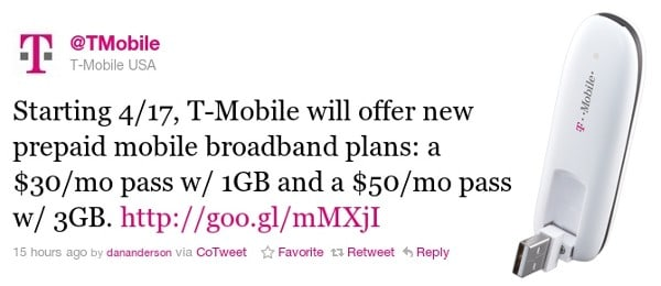 T-Mobile blesses contract-averse with Rocket 4G modem and better