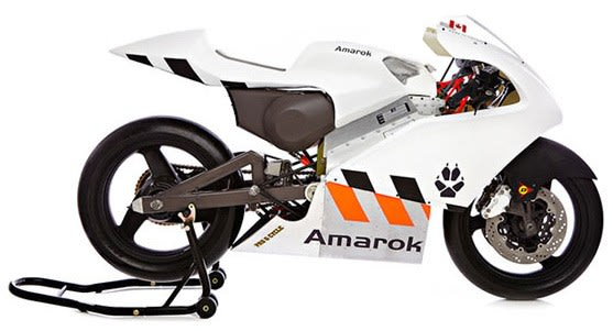 What S Fast Electric And Made In Canada No Not The Latest Rush Record It P1 A New Motorcycle Prototype From Quebec Based Amarok
