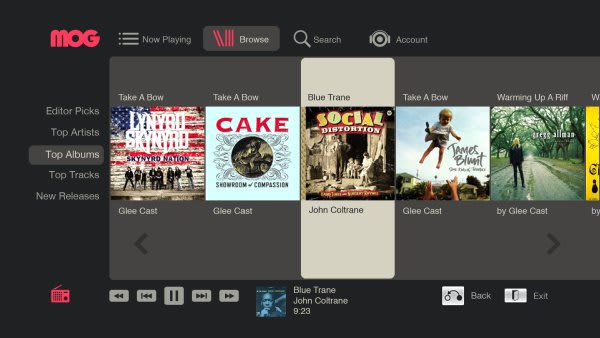 MOG subscription music service comes to LG Smart TV Blu-ray
