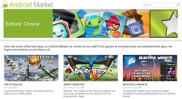 Google announces new ways to discover apps on Android Market