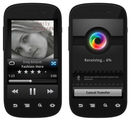 DoubleTwist's latest trick is NFC-based MP3 sharing between