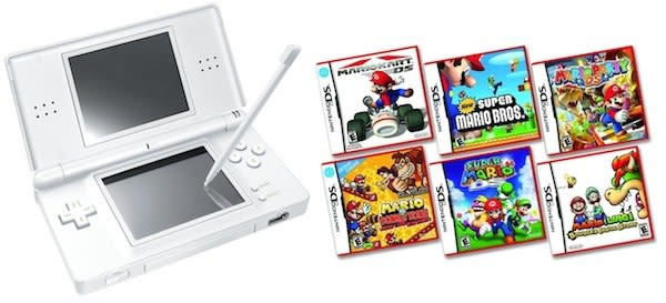 nintendo drops ds lite to 100 makes it easier to mario party