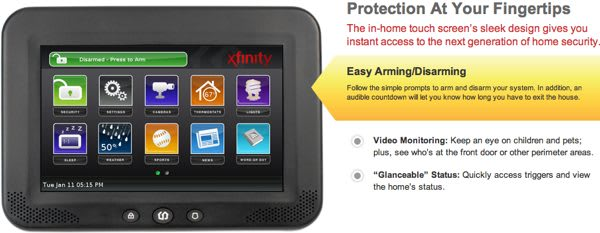 Xfinity Home Security Makes Home Monitoring And Management Comcastic