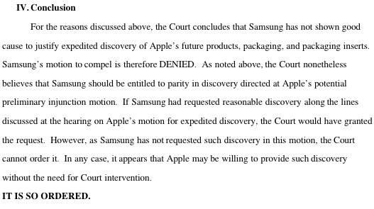 Samsung denied preview of iPad 3, iPhone 5 in ongoing Apple