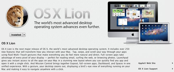 Poll: Did you download Mac OS X Lion (10 7)?