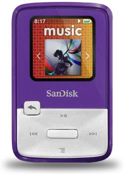 SanDisk launches $50 Sansa Clip Zip MP3 player, makes for a cheap