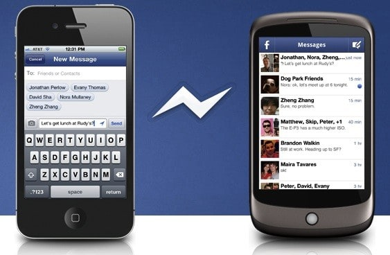 Facebook introduces separate Messenger app for iPhone and Android