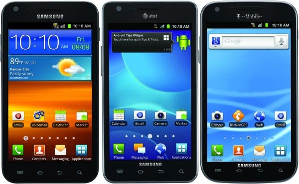 Galaxy S II finally lands on American shores for Sprint, T-Mobile