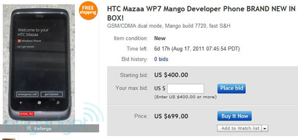 HTC Mazaa's awarded in dev contest, winners promptly splay (and