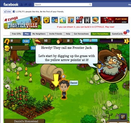 Zynga's Pioneer Trail is like The Oregon Trail without the