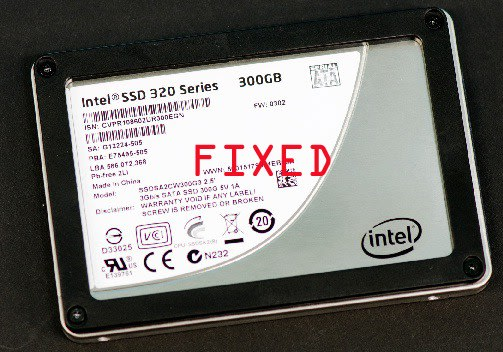 Intel to finally issue firmware fix for faulty 320 series