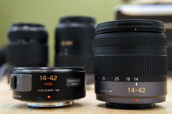 Panasonic G-series lenses get firmware update, performance boosts