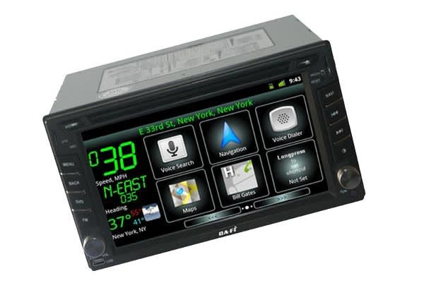 Ca-Fi is an aftermarket Android car stereo that won't fit in