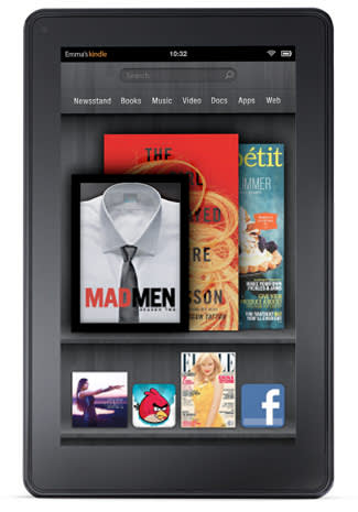 Amazon Kindle Fire tablet unveiled: Android-based, 7-inch display