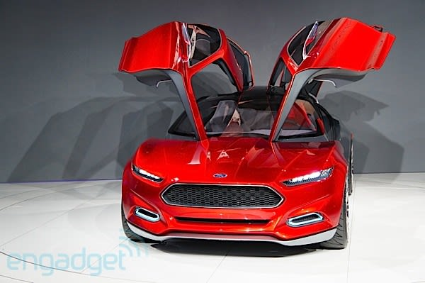The 2017 Frankfurt Auto Show Doesn T Kick Off Until Tomorrow But Already Ford S Unveiled Tasty Hunk Of Conceptual Automotive Design It Teased Us With A