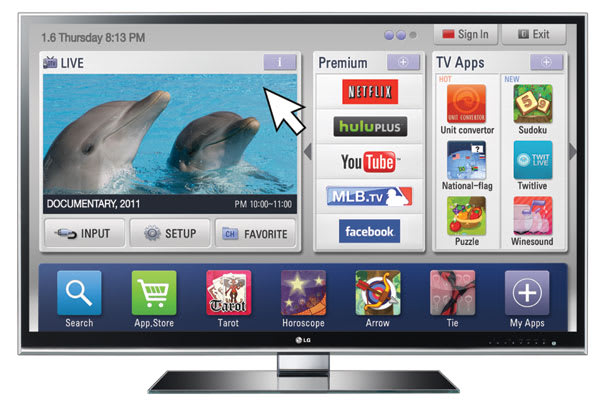 LG's 55-inch LW9800 3D HDTV earns THX certification, our home