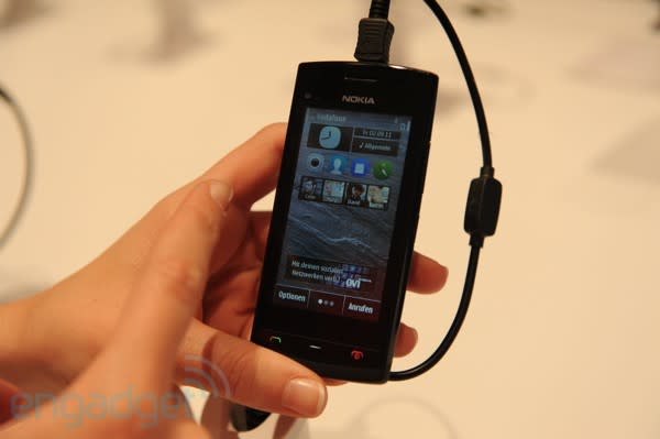 Nokia 500 hands-on