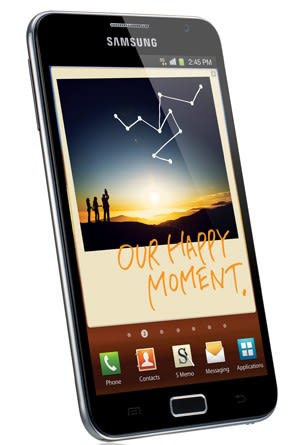 Samsung Galaxy Note announced: 5 3-inch display, built-in-stylus