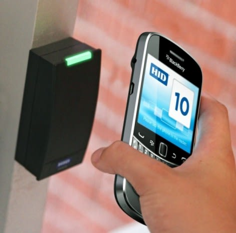 Assa Abloy developing NFC-enabled key cards for BlackBerry handsets