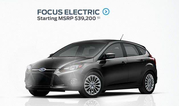 We Caught Our First Glimpse Of The Ford Focus Electric Way Back At Ces And Now About 11 Months Later It S Finally Hit Market