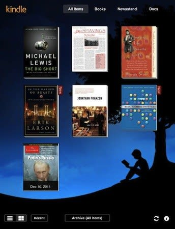 Amazon Updates Kindle Ios App With New Magazine Options For