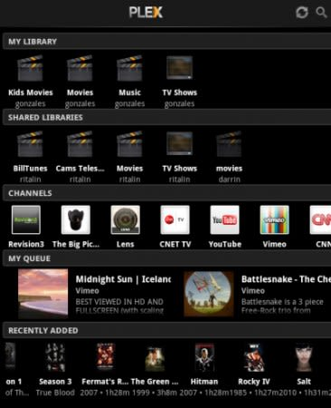 Plex app available on Kindle Fire, media servers and other