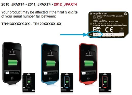 sports shoes 4c73b ffd25 PSA: Mophie and Best Buy issue separate iDevice battery pack recalls ...