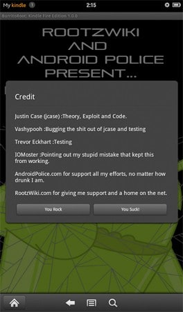 Kindle Fire root reignited, beats 6 2 1 update