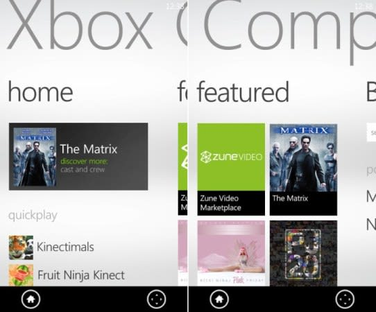 Xbox Companion app for WP7 will launch alongside the new dashboard