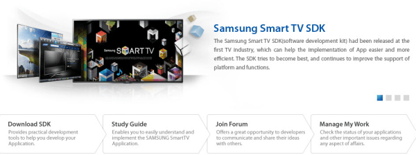 Samsung's Smart TV SDK reaches 3 0 with support for USB