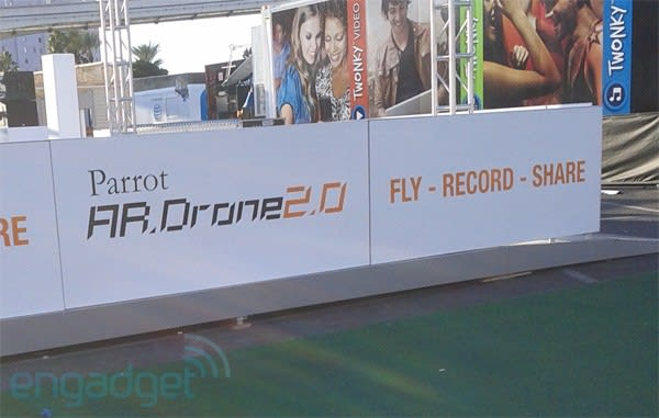 Parrot launching new AR Drone2 0 at CES?