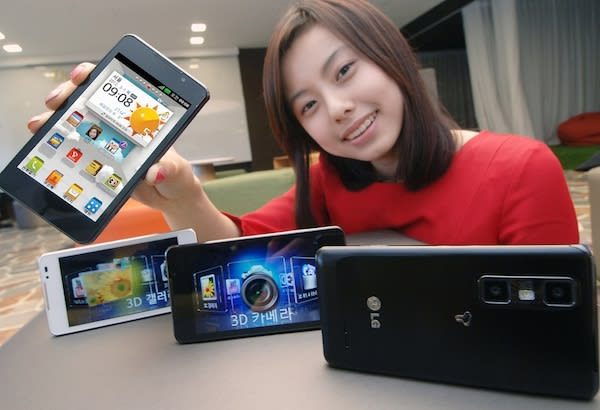 LG Optimus 3D Max is a slimmer sequel, world's first phone