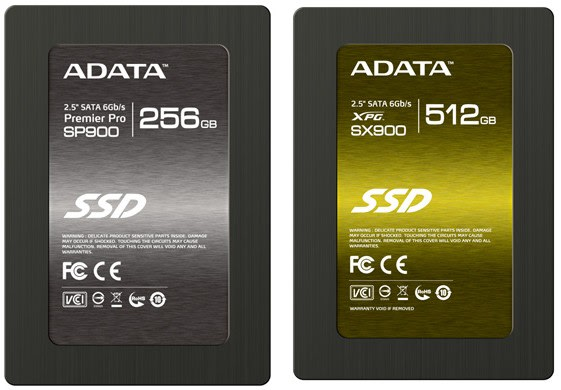 ADATA reveals three new SandForce SSDs for the high, mid and