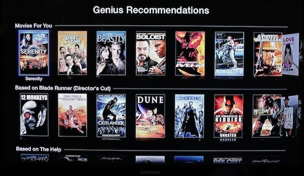 Apple TV gets into video discovery, adds movie and TV show