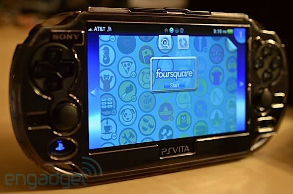 Foursquare Ps Vita App Hits Us Playstation Store Gives You Another