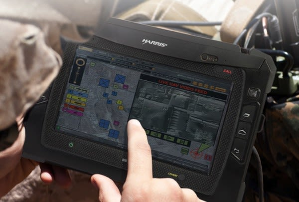 Harris new rugged tablet brings Honeycomb to your local