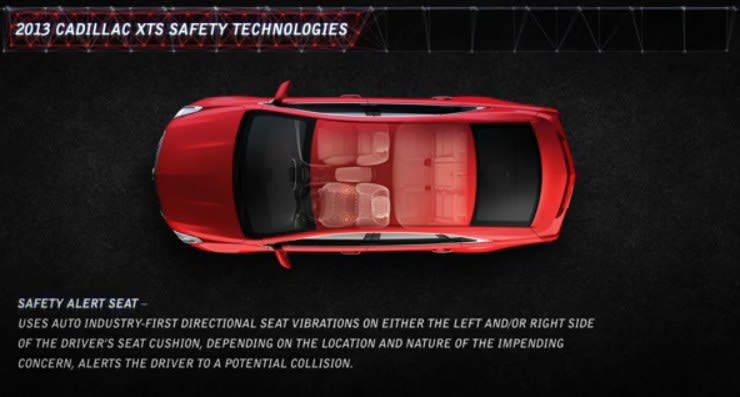 Cadillac Focuses On Safety With Vibrating Drivers Seats Other
